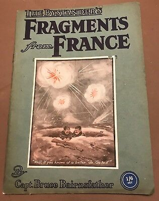 Fragments From France WWI Cartoons by Capt. Bruce Bairnsfather 1915
