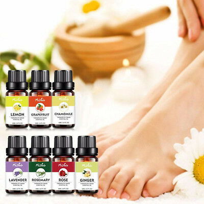 Natural Pure Aroma Fragrance Essential Oil 10ML Spa Diffuser Burner Therapy Gift