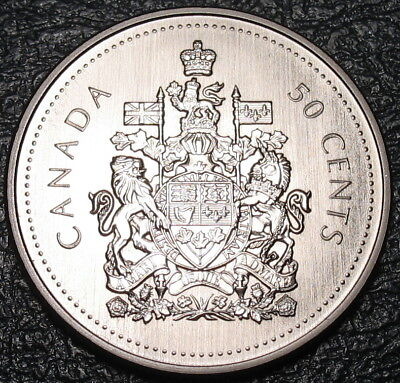 RCM - 2002-p - 50-cents - Coat of Arms - SPECIMEN - Uncirculated