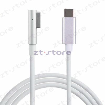 Usb Type C to Magsafe1 Cable charger MacBook computer with USB-C Power Adapter