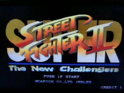 Super Street FIighter II: The New Challengers CPS2 B Board w/ box and art