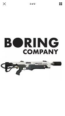 "THE BORING COMPANY ""Not A Flametosser"" NIB, Manual, Hat, Wristband And Fire Ext"