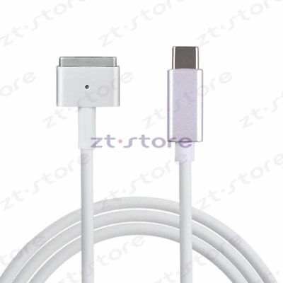 USB C to Magsafe2 Cable Charger your MacBook computer with USB-C Power Adapter