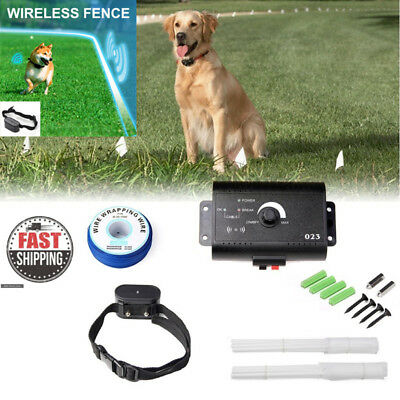 Electric Pet Barrier Smart Dog In-ground Fencing System Multi Collar Operation