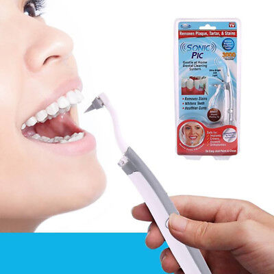 Oral Care Tool Tooth Stain Dental Cleaning Electric Sonic Eraser Plaque Remover