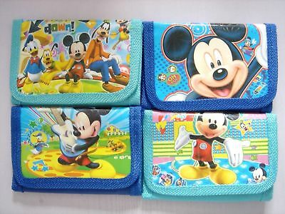 1 pcs Mickey Mouse Kids Boys Various Stocking Filler Wallet Purse Coins Bag Gift