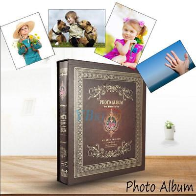 "Large Ring Binder Slip In Photo Album 500 6x4"" Photos Memories Organiser Durable"