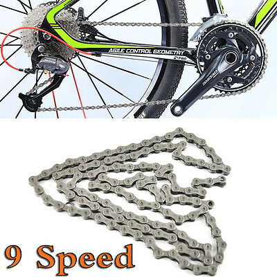 116 Links 9-Speed Bicycle Connectors Parts Chain Repair for SHIMANO Deore LX 105