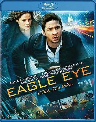 Eagle Eye: Blu-ray movie - Canadian bilingual - NO SCRATCHES - tested + warranty