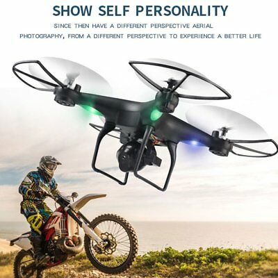 D68W-3 720P HD Wifi Camera FPV RC Drone with Altitude Hold Headless Mode EF