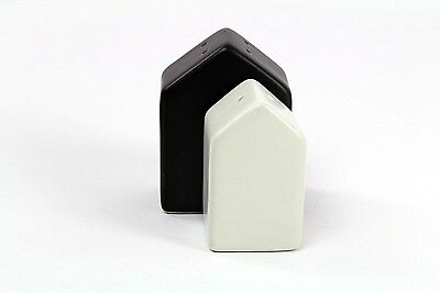 House Salt and Pepper Shaker Set (2pc) Black/Cream Hearth & Hand with Magnolia