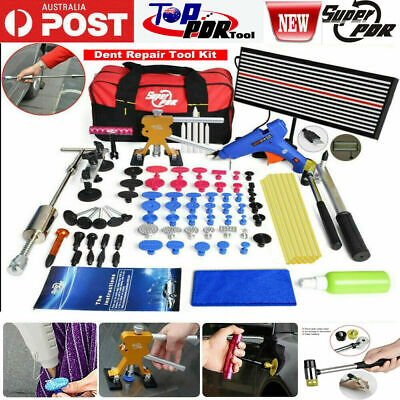 51 Pieces Paintless Dent Removal Kit Car Body PDR Dent Repair Kit Dent Remover
