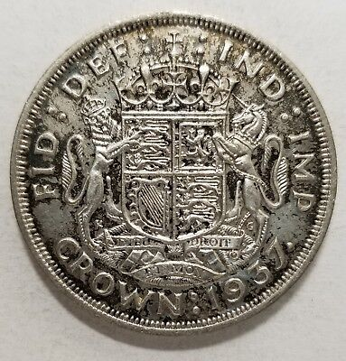 Great Britain 1937, Crown KM# 857 {Silver}