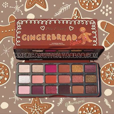 Too Faced Gingerbread Spice Eyeshadow Palette Multi-Finish Warm & Toasty Shades
