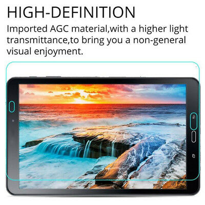 100% Tempered Glass Screen Protector For Samsung Galaxy Tab T580 10.1 Tablet