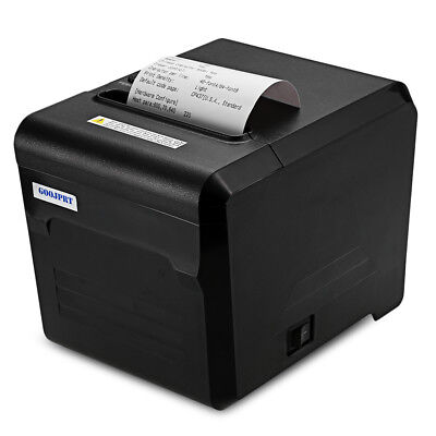 GOOJPRT JP80A Thermal Receipt Printer with USB LAN Serial Port 80mm ESC/POS New