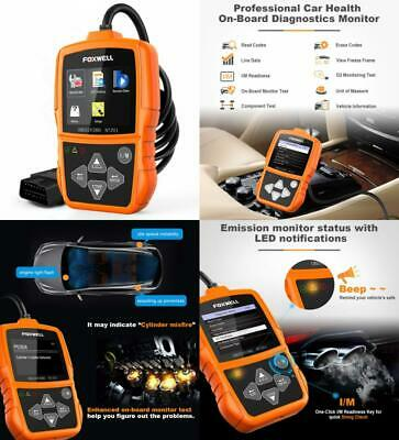 Foxwell NT201 Auto OBD2 Scanner Check Car Engine Light Fault Code Reader...