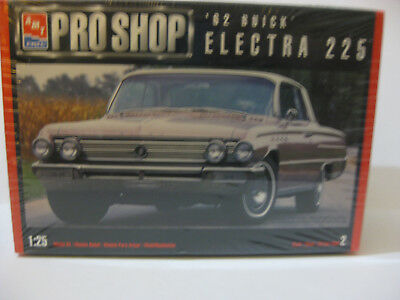 Amt Pro Shop 1962 Buick Electra 225 Kit Factory Sealed 1/25 Scale Skill Level 2