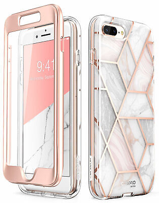 For iPhone 8 Plus /7 Plus Case i-Blason Cosmo Bumper Cover With Screen Protector