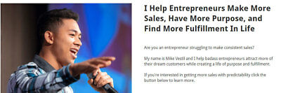 Mike Vistel - The Accelerator  - Mastering Advertising campaigns - Worth ($1997)
