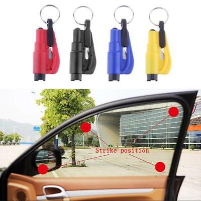 Emergency Safety Escape Hammer Car Window Glass Breaker Keyring Seat Belt Cutter