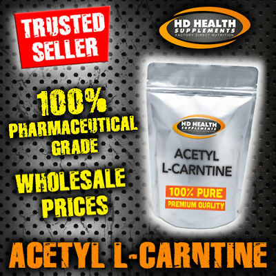 200g PURE ACETYL L CARNITINE POWDER | PHARMACEUTICAL GRADE ALCAR WEIGHT-LOSS