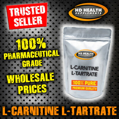 500g PURE L CARNITINE TARTRATE POWDER   PHARMACEUTICAL GRADE LCLT WEIGHT-LOSS