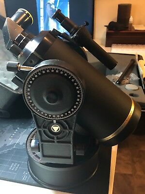 Bausch & Lomb Criterion 4000 Schmidt-Cassegrain Telescope With Case and Manual