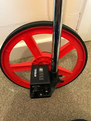 Distance Measuring Wheel with Stand Foldable Bag Surveyors Builders Road Land