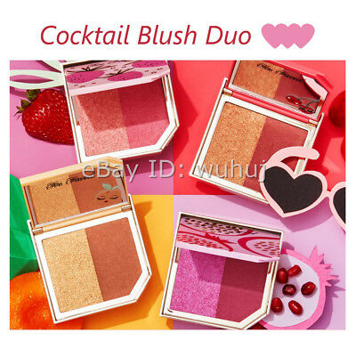 Pineapple /Bananas / Apricot/Cherry Cocktail Blush Duo Palette Highlight New