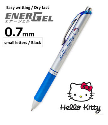SANRIO Hello Kitty Cute Black Gel ink ball-point  pen 0.7mm small letter