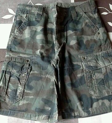 Bermuda Rg512 Style Camouflage Taille 12 Ans Comme Neuf