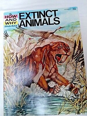 The How and Why Wonder book of Extinct Animals