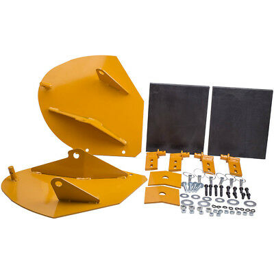 The ROP Shop Heavy Duty Snow PLOW PRO-Wing Blade Extensions for Boss Snowplow Blade Extenders