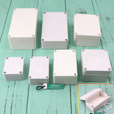 Kind of Sizes Electronic Plastic DIY Junction Box Enclosure Project Case Gray UK