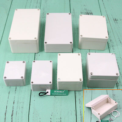 Electronic Dustproof IP66 Sealed ABS Plastic DIY Junction Box Enclosure Case New