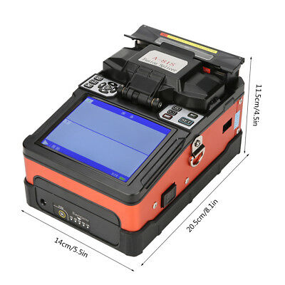 1 Set A-81S Fiber Optic Welding Splicing Machine Optical Fiber Fusion Splicer wt