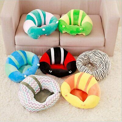 Kids Baby Support Seat Sit Up Soft Chair Cushion Sofa Plush Pillow Toy Bean Bags
