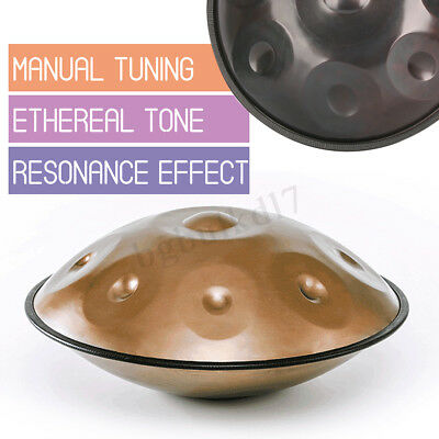 9Notes Percussion Hand Pan Handpan Tongue Steel Hand Drum Music Instrument Relax