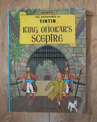 King Ottokar's Sceptre (The Adventures of Tintin) by Herge Paperback Book