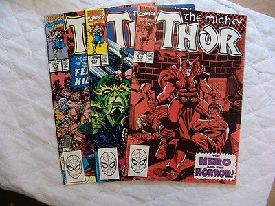 THOR 416, 417, 418  VERY FINE/MINT condition