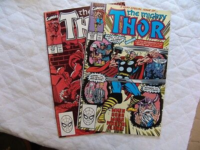 THOR 415, 416  VERY FINE/MINT condition