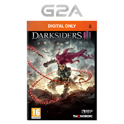 Darksiders III 3 Key [PC RPG Game] STEAM Download Code D3 UK/EU