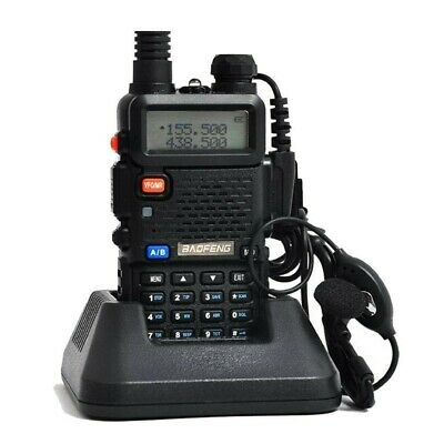 Baofeng UV-5R Walkie Talkie Ricetrasmittente Two Way VHF/UHF Dual Band Radio FM