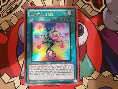 LCGX-EN170 Crystal Tree Ultra Rare NM Legendary Collection 2 Yugioh