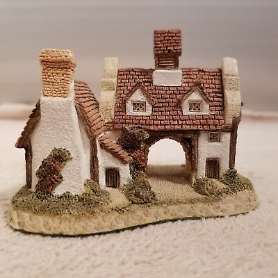 Vintage David Winter Cottages THE SCHOOLHOUSE 1985 Hand Made in England