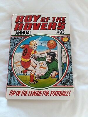 Roy Of The Rovers Annual 1983