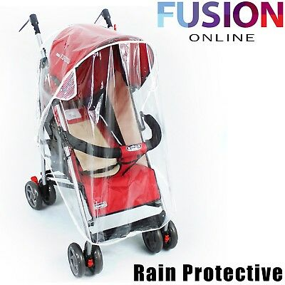 Universal Stroller Raincover Buggy Pushchair Pram Transparent Baby Good Quality