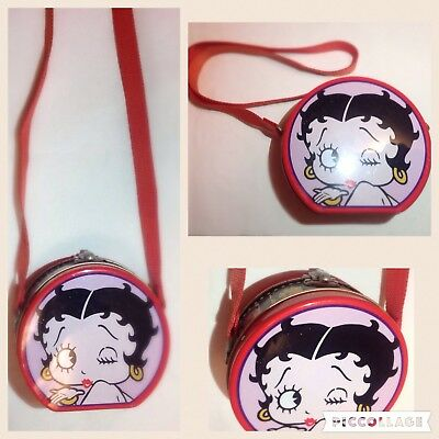 Vintage Betty Boop Collectible Shoulder Tin Purse  SALE