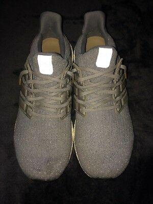 check out a766e 2cfa7 Adidas Ultra Boost LTD 3.0 Leather Cage Grey Tan Size 9.5 running walking  men